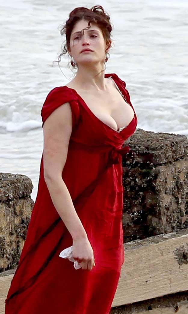 Gemma Arterton Byzantium rodaje
