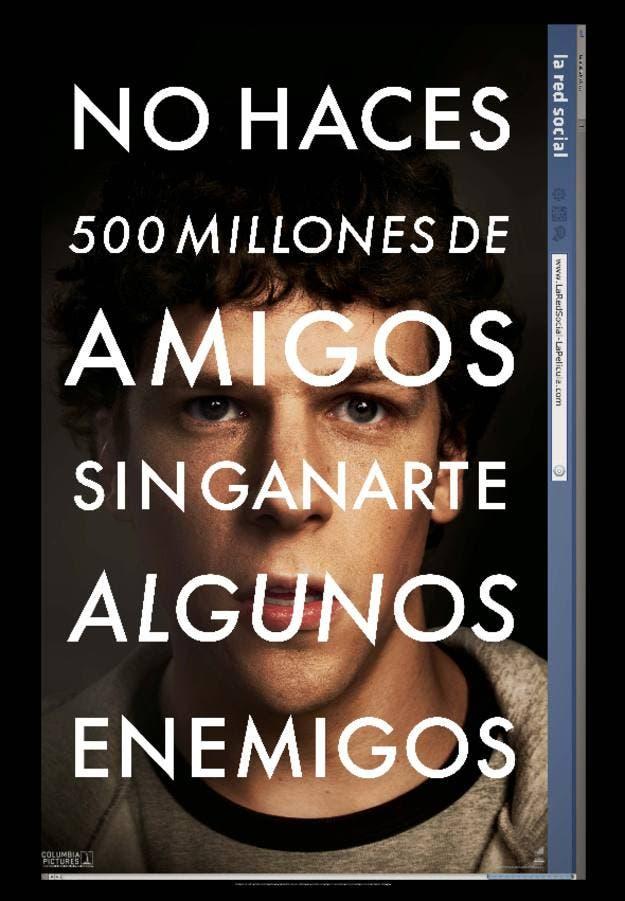 Poster de La red Social