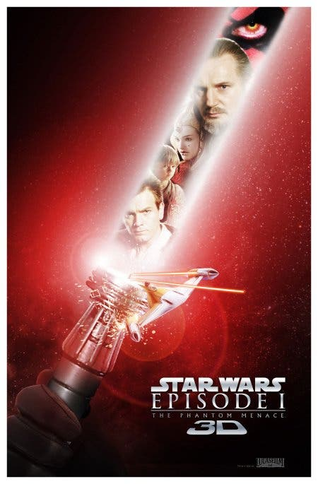 Poster Star Wars: La amenaza fantasma