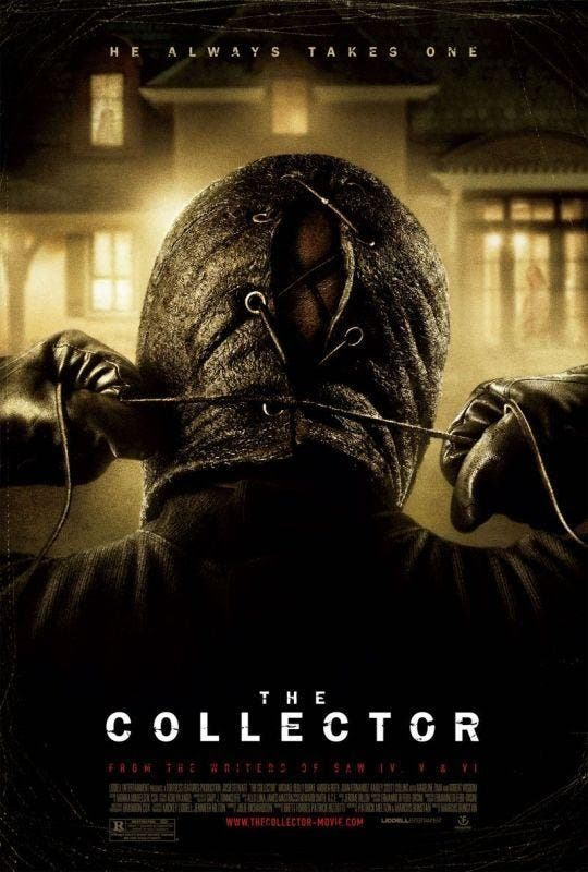Poster de The Collector de Marcus Dunstan
