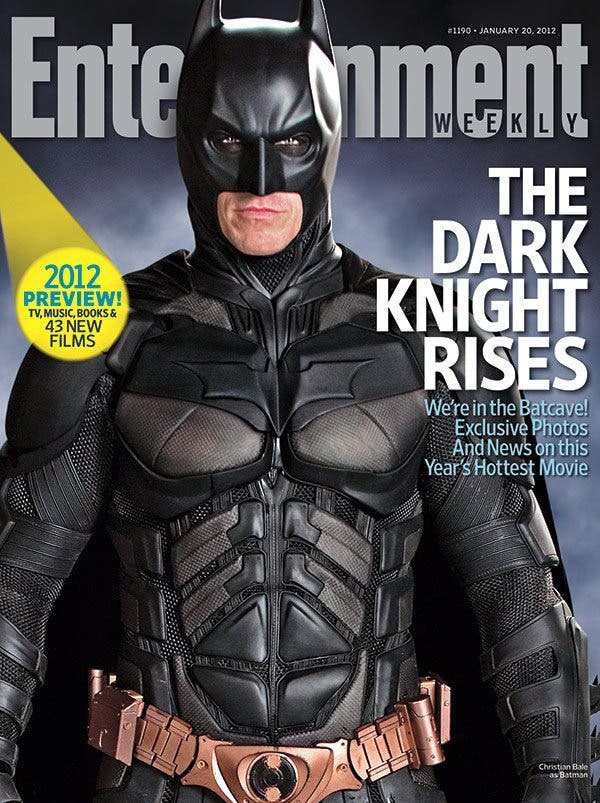 Cover Batman Enterteiment Weekly
