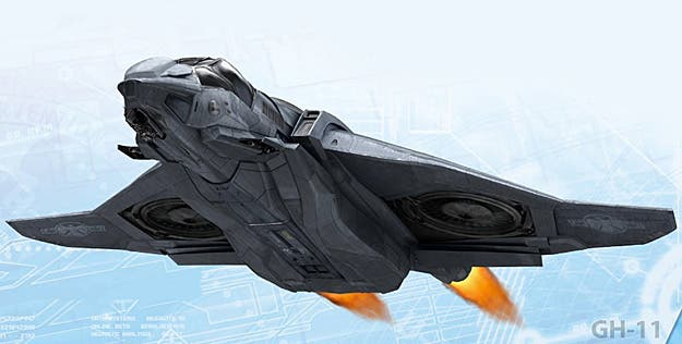 Quinjet concept art The Avengers
