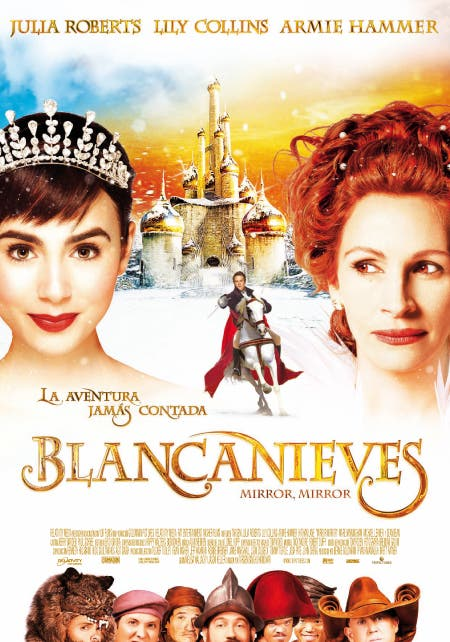 Cartel final de Blancanieves (Mirror, mirror)