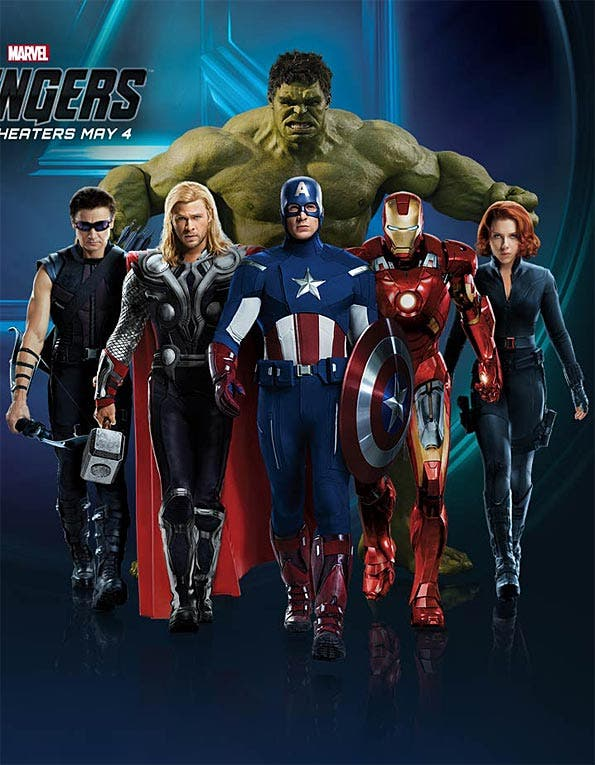 Imagen de Grupo de los Vengadores