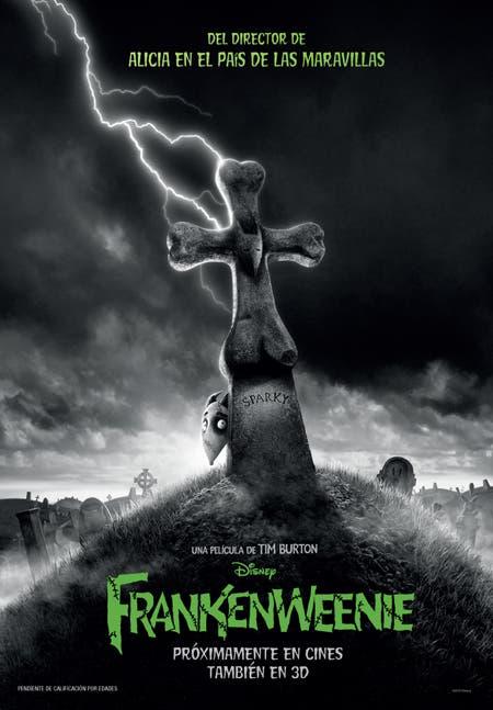 Poster de Frankenweenie