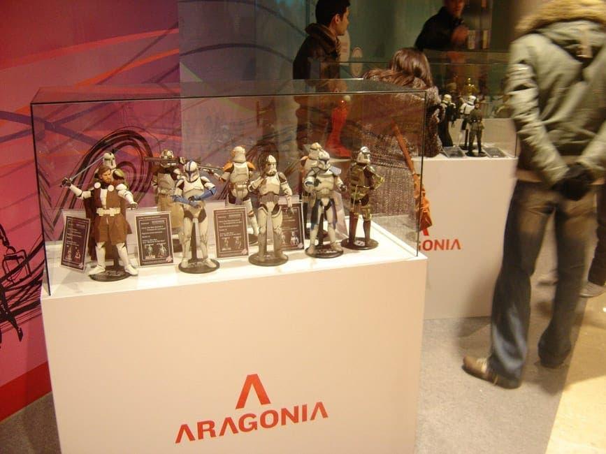 star wars exposición en Aragonia Zaragoza
