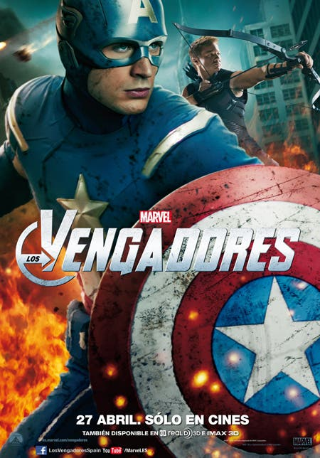 Capitán América y Ojo de Halcón