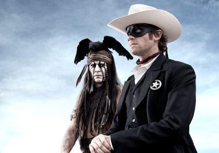 Primera imagen de 'The Lone Ranger' (El llanero solitario)