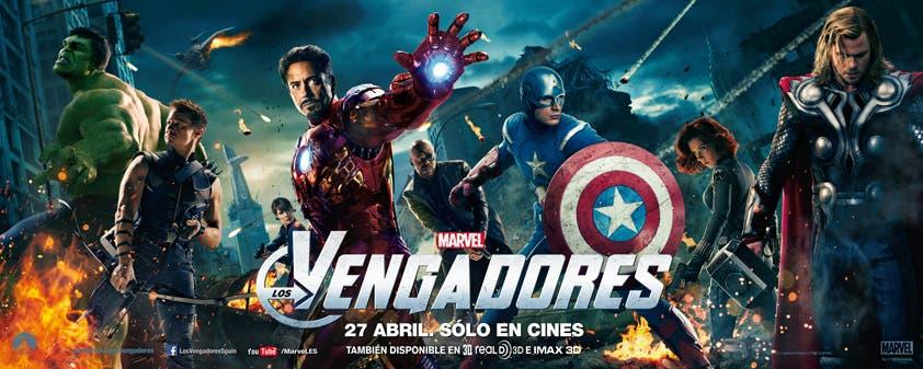 Marvel: Los Vengadores. El equipo al completo.