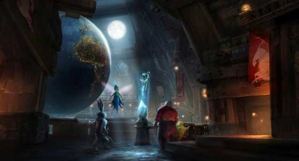 El origen de los guardianes. Concept art Presentación películas de Dreamworks