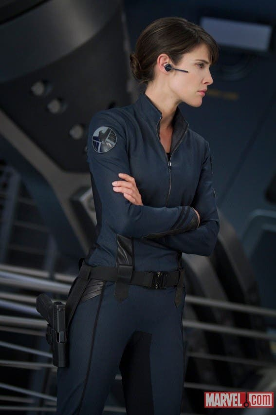 Marvel: Los Vengadores. Cobie Smulders es Maria Hill