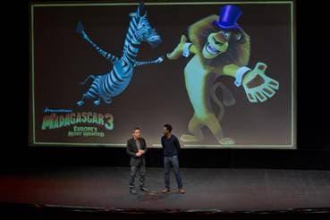 Presentación películas de Dreamworks
