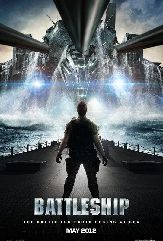 Poster de Battleship