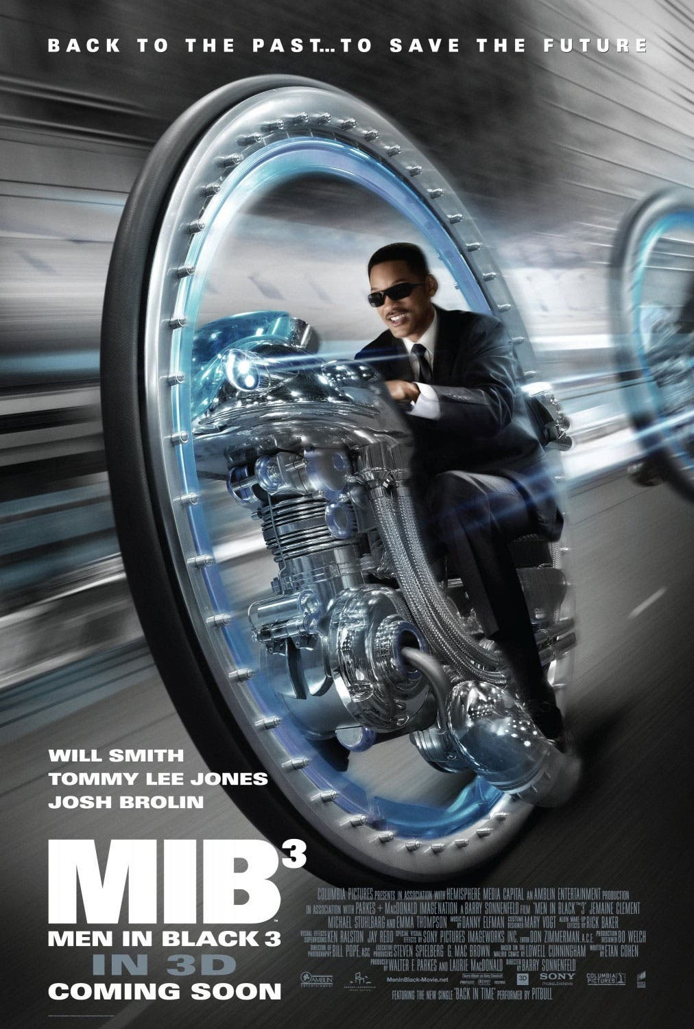Nuevo Póster de Men in Black III