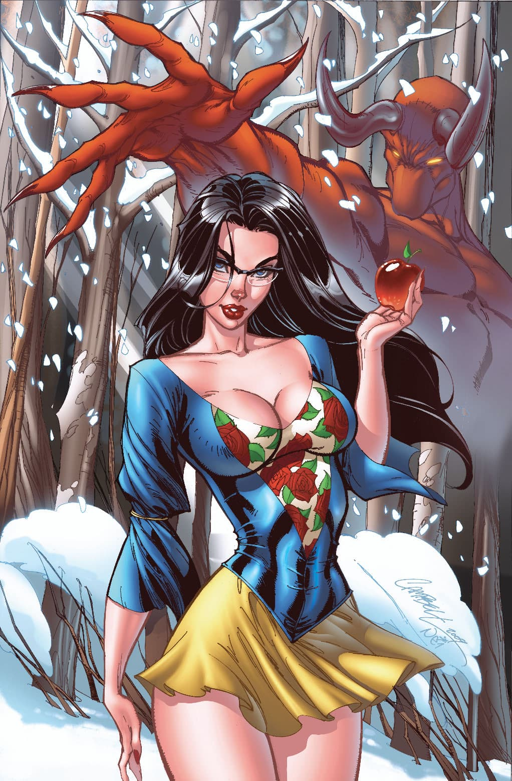 Blancanieves. Princesas Disney J. Scott Campbell