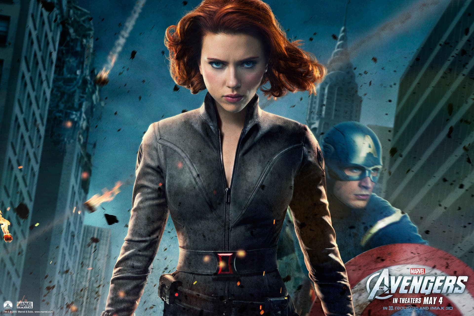 Wallpaper Black Widow. Marvel Los Vengadores