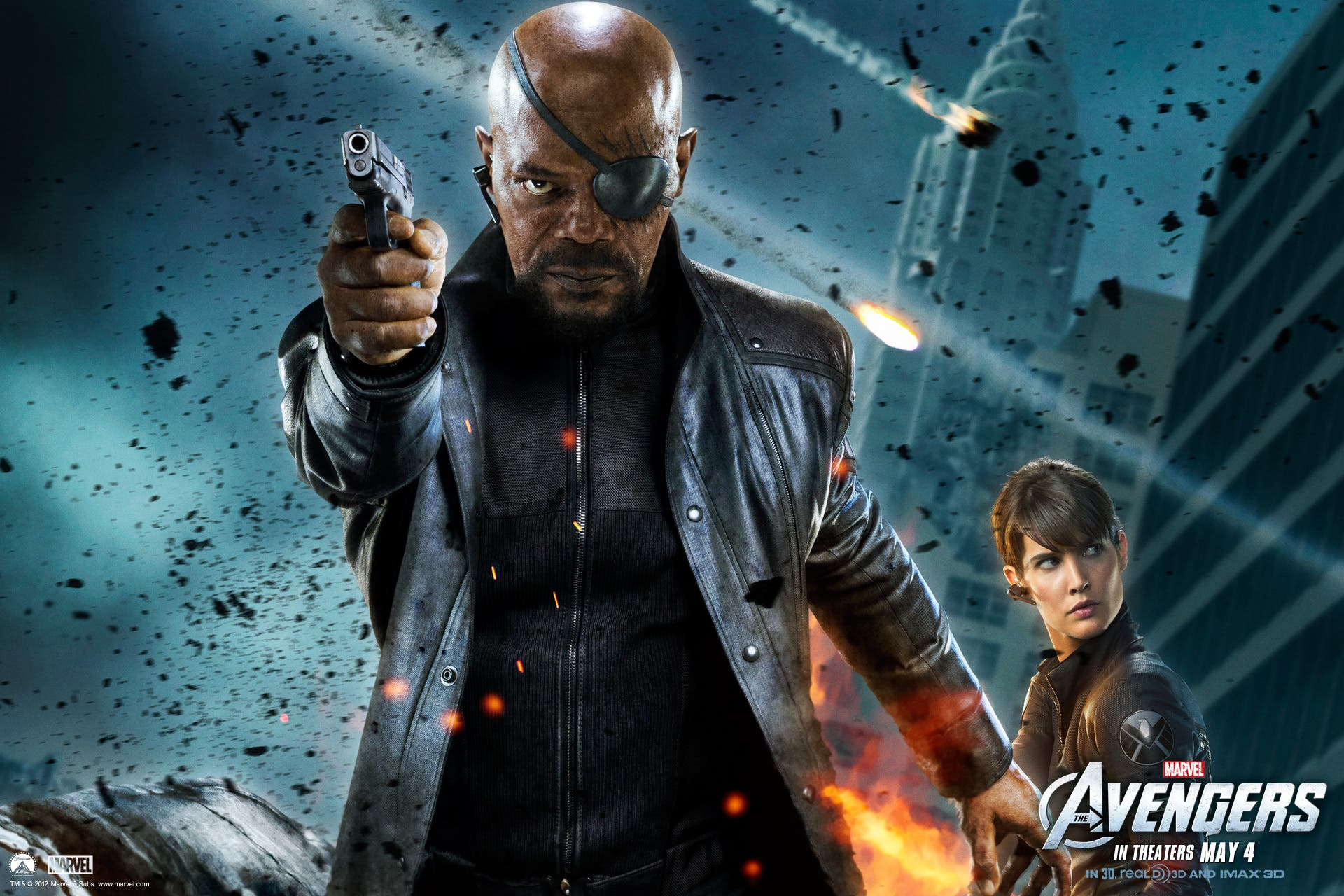 Samuel L Jackson es Nick Fury