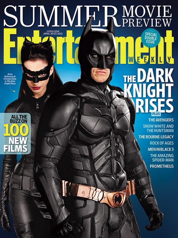 Portada Batman Entertainment Weekly