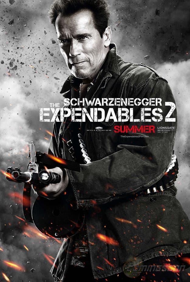 expendables Arnold Schwarzenegger