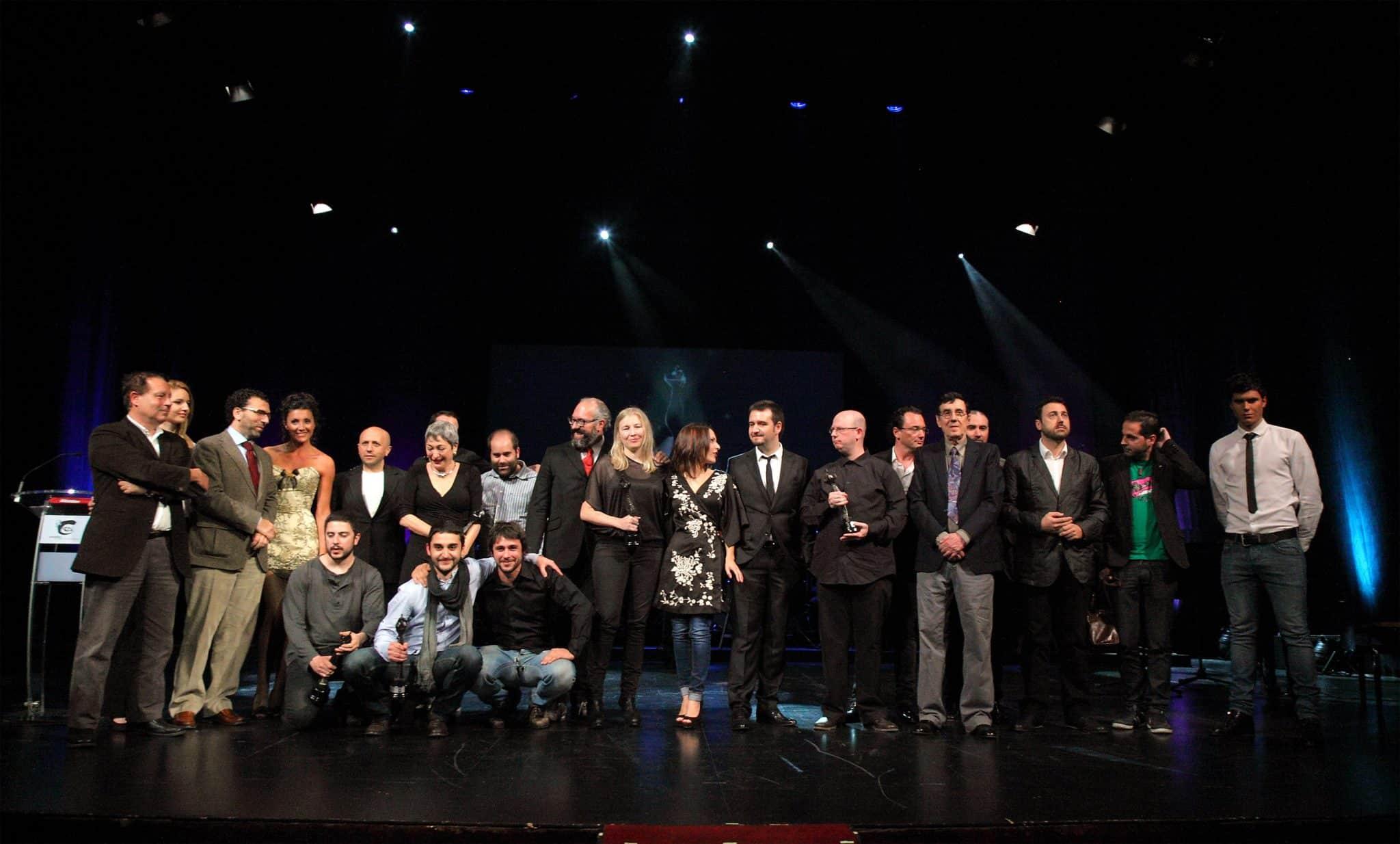 foto de familia premios Simon