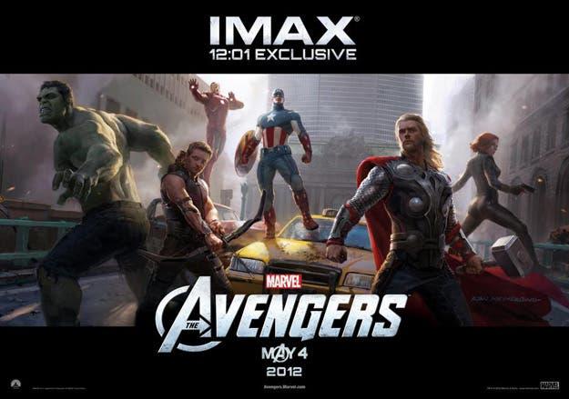 Póster IMAX de Los Vengadores
