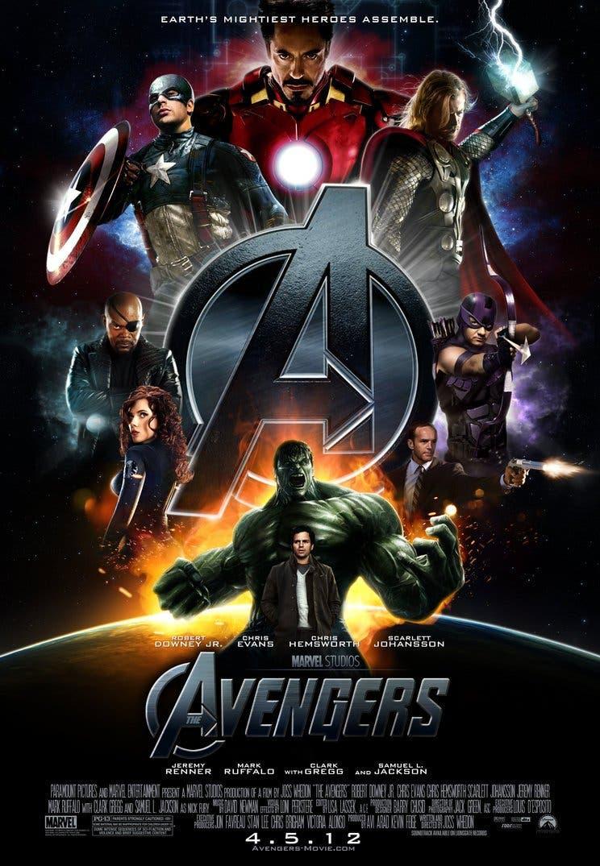 Poster de Los Vengadores