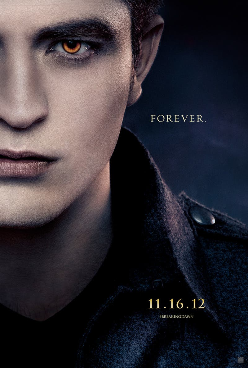Robert Pattinson es Edward Cullen