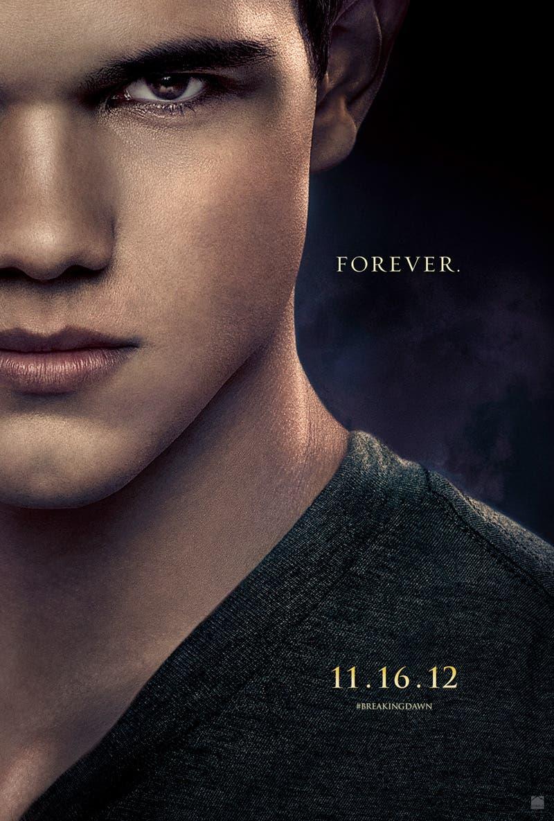 Taylor Lautner es Jacob