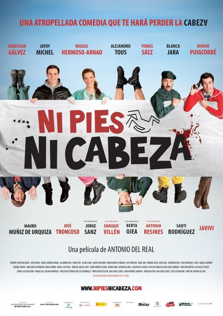 Poster de Ni pies ni cabeza
