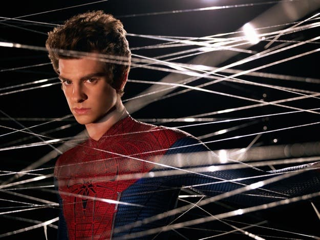 Andrew Garfield es Peter Parker/Spider-man