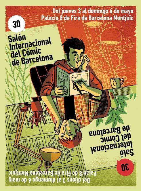 cartel salon del comic de Barcelona