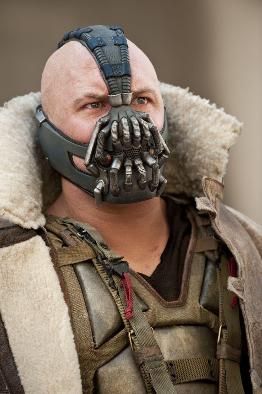 Nueva imagen de Tom Hardy como BANE en The Dark Knight Rises
