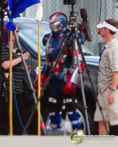 Imagen rodaje Iron Man 3