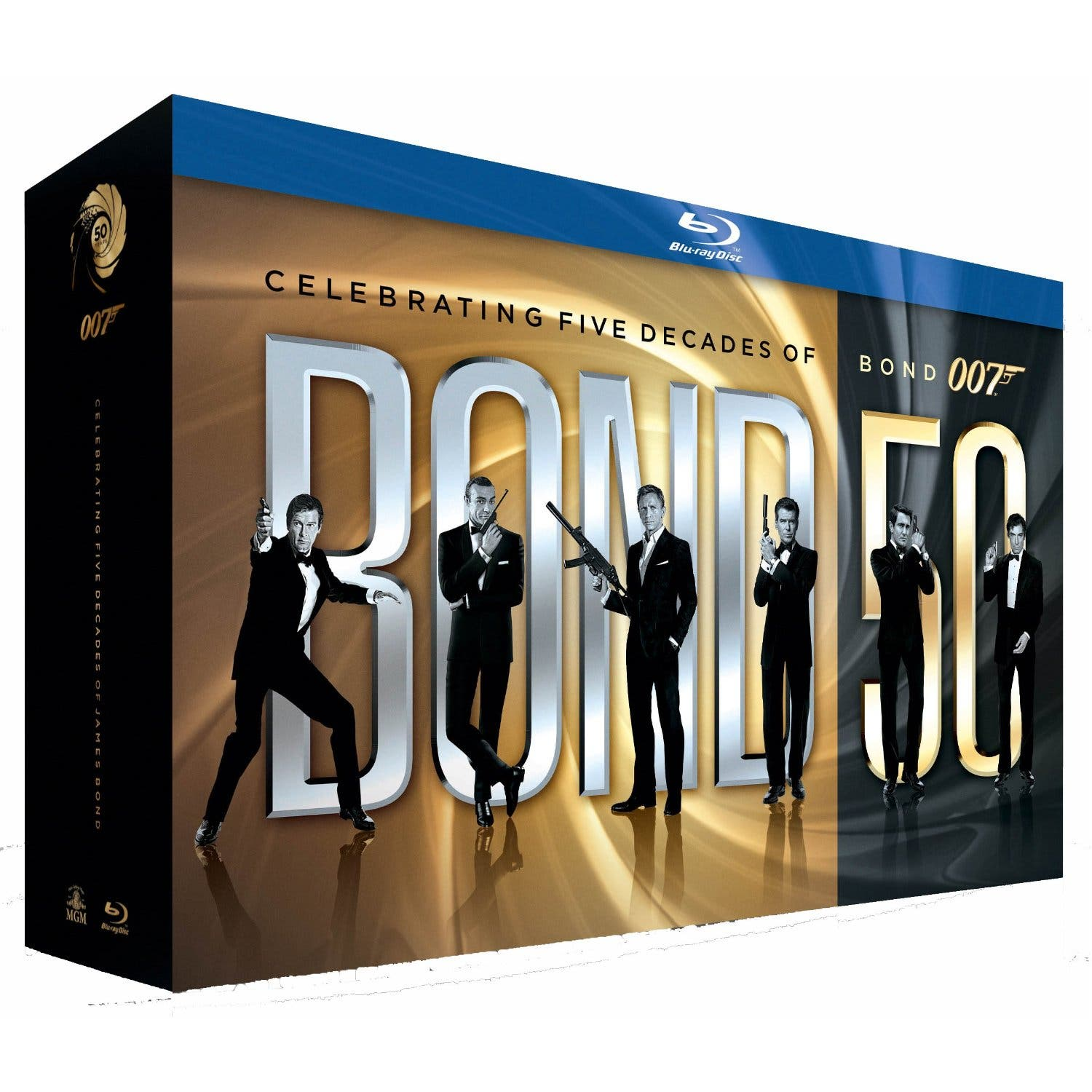 BD 50 ANNIVERSARY BOND PACK PICTURE