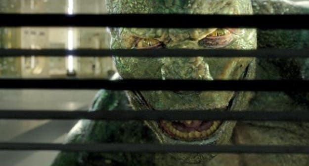 The Lizard en the Amazing Spider-man