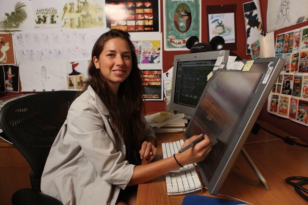Lorelay Bove en el Seminario de animación