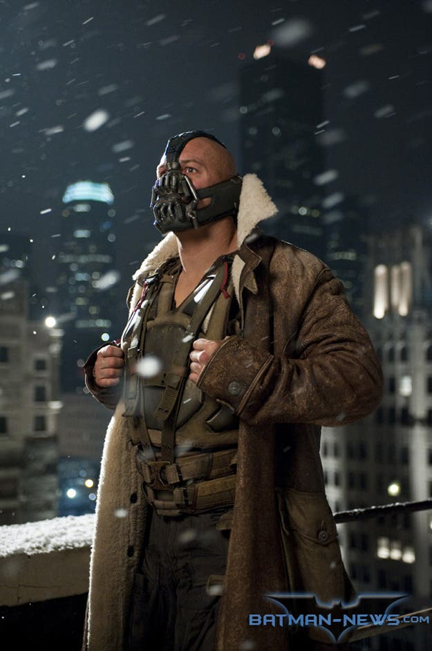 Tom Hardy es Bane The Dark Knight Rises