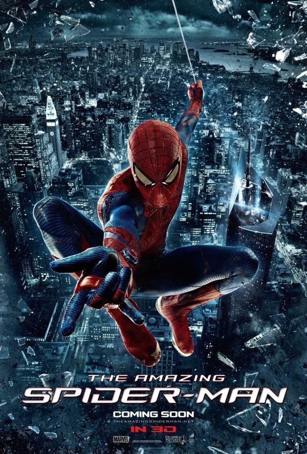 Nuevo porster de The Amazing Spider-man