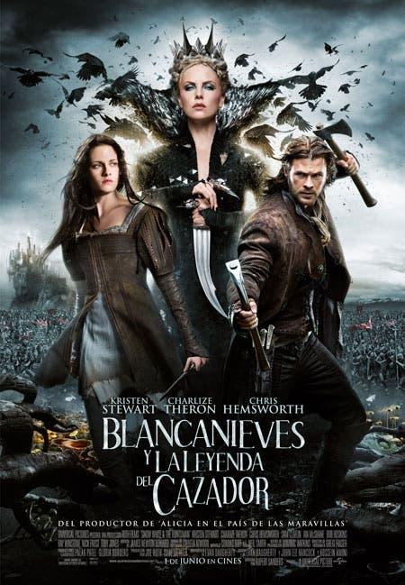 Poster final de Blancanieves y la leyenda del Cazador