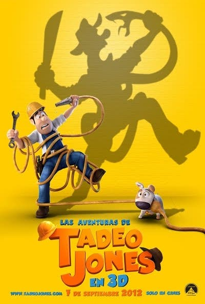 Poster de Las Aventuras de Tadeo Jones