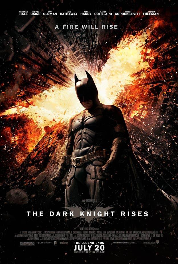 Nuevo poster de The Dark Knight Rises