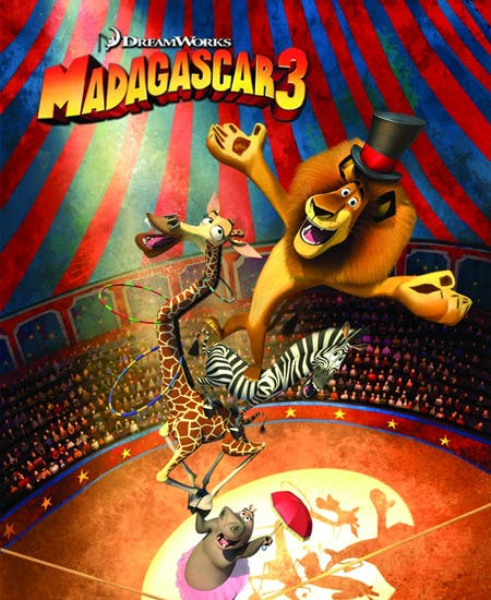 Box Office USA: Madagascar 3 número 1
