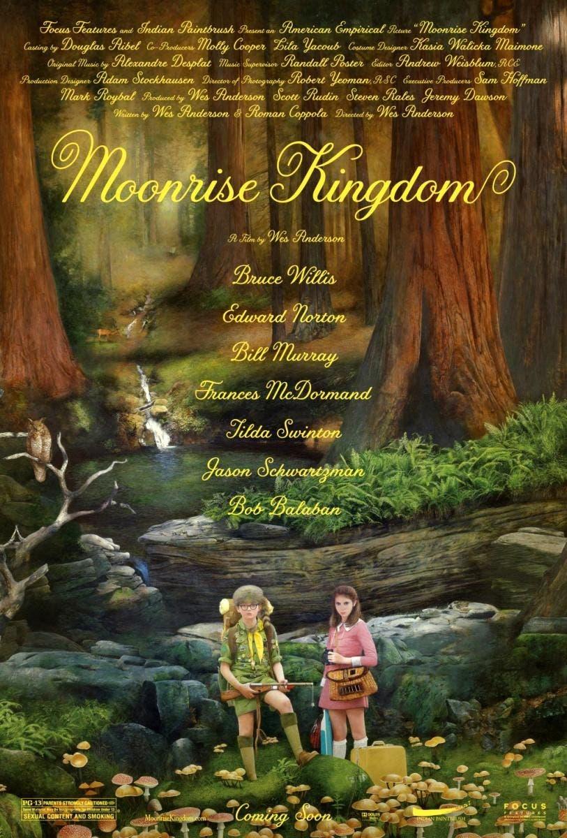 Poster de Moonrise Kingdom