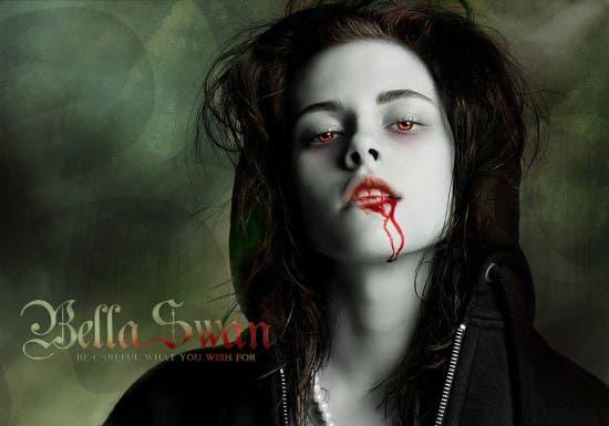 Kristen Stewart es Bella Swan en Crepúsculo