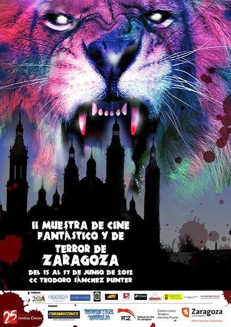 cartel II muestra de cine fantástico y de terror de Zaragoza