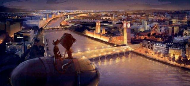 Concept arts de 'MADAGASCAR 3: DE MARCHA POR EUROPA'