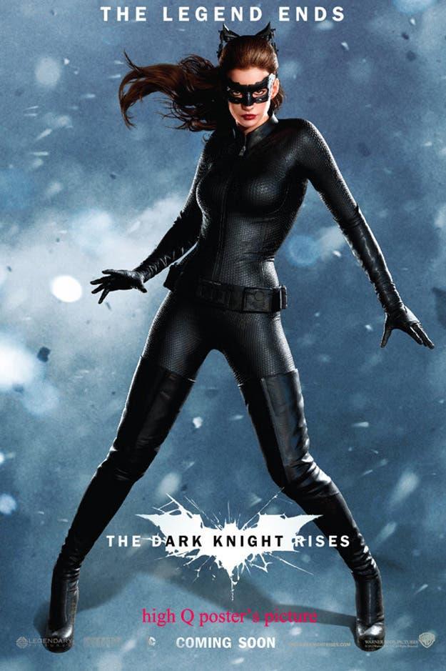 Cinco nuevos poster de The Dark Knight Rises - Noticias de cine