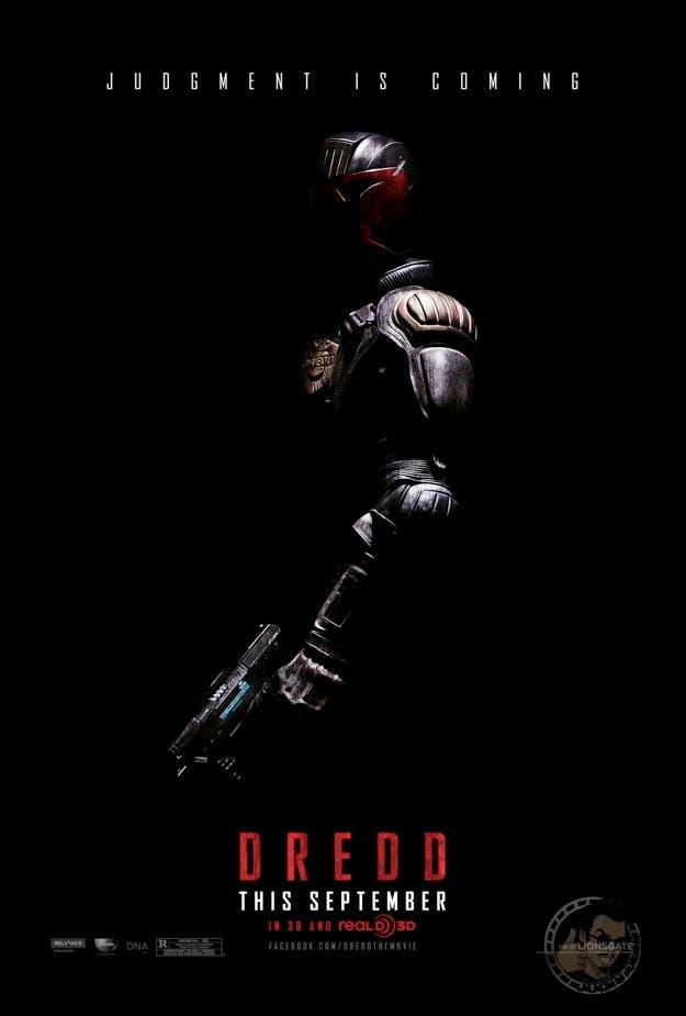 Teaser poster de Dredd