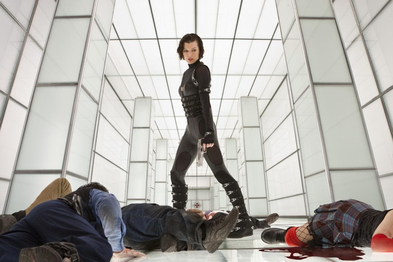 Milla Jovovich enb RRESIDENT EVIL: VENGANZA