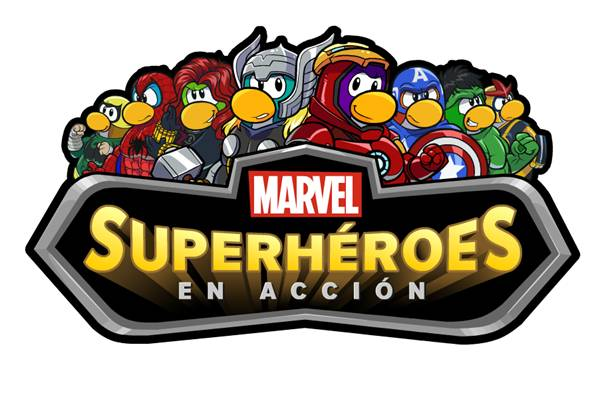 Club penguin superheroes marvel